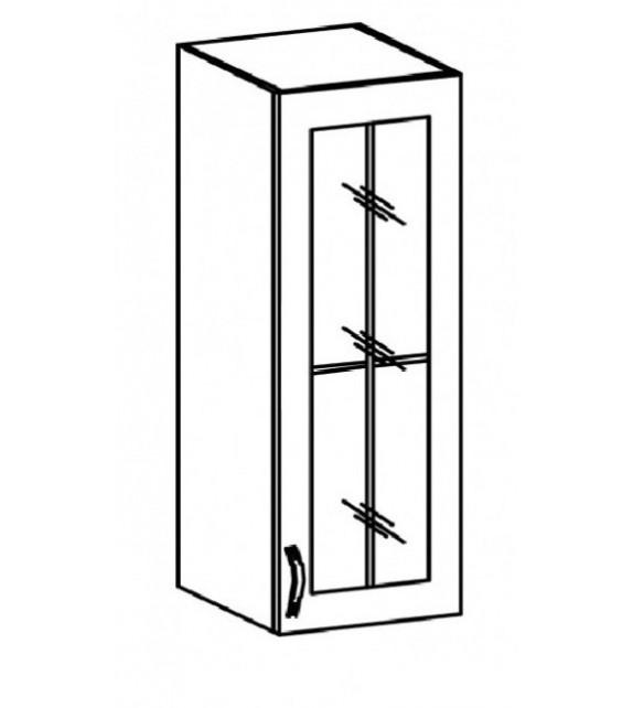 TK PROVANCE W40 Felső üvegezett szekrény