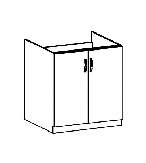 TK PROVANCE D80Z dolná drezová skrinka
