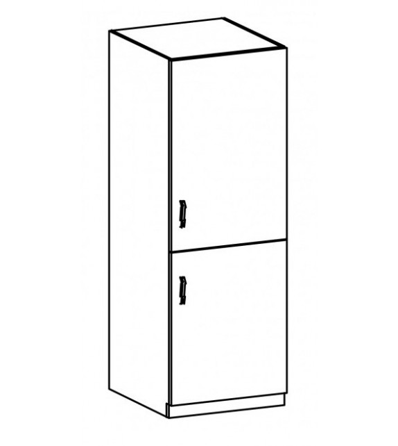 TK PROVANCE D60ZL Szekrény beépített hűtőszekrényhez