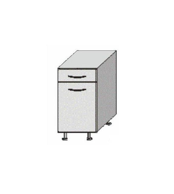 TK JURA NEW B D 40 S1 skrinka dolná so šuflíkom