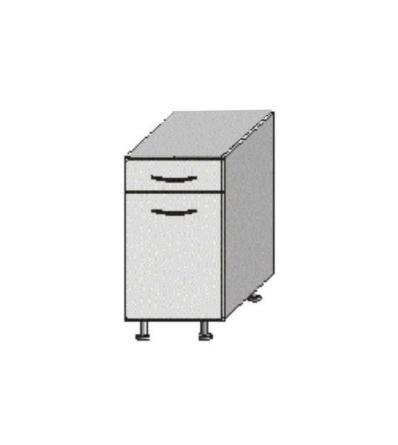 TK JURA NEW IA D 40 S1 skrinka dolná so šuflíkom