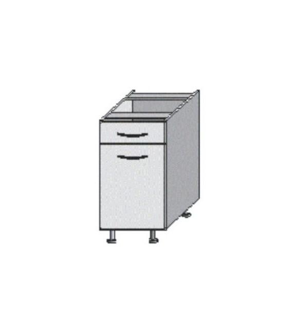 TK JURA NEW I D 40 S1 skrinka dolná so šuflíkom