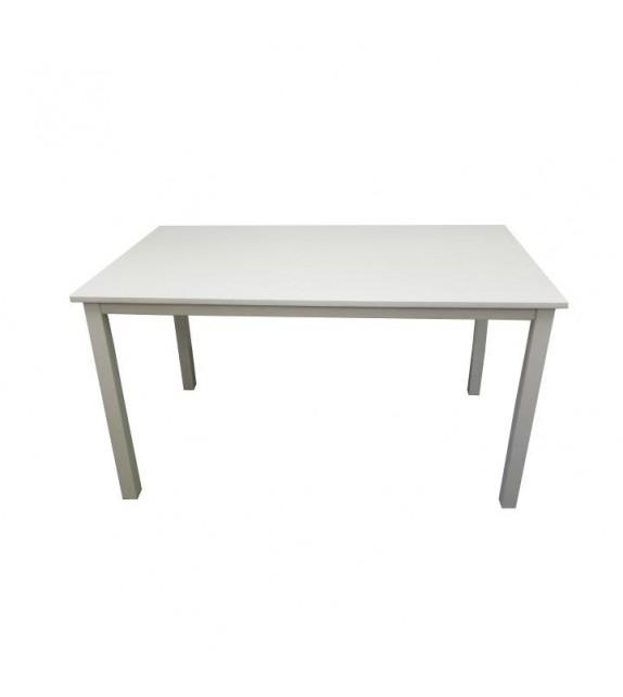 TK ASTRO Jedálenský stôl drevený 110 biela