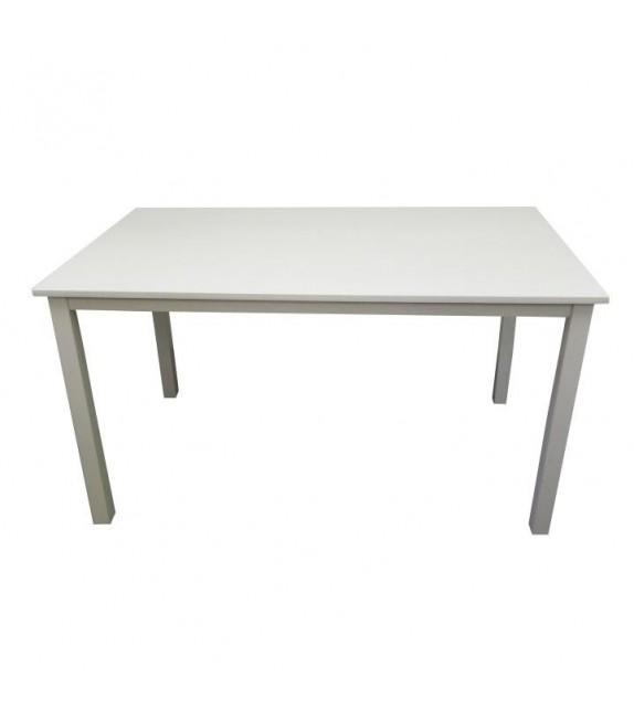 TK ASTRO Jedálenský stôl drevený 135-biela