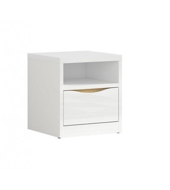 BRW PORI KNT1S nočný stolík spálňový sektorový nábytok