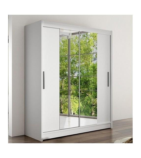 WIP WESTA II skriňa s posuvnými dverami kombinovaná