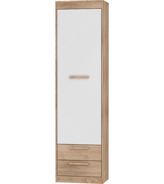 WIP MAXIMUS MXS-01 skriňa policová úzka 1D2S lesk sektorový nábytok