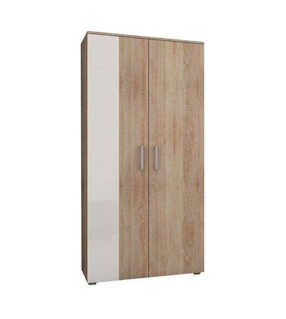 WIP STELLA STE-05 skriňa vešiaková lesk sektorový nábytok