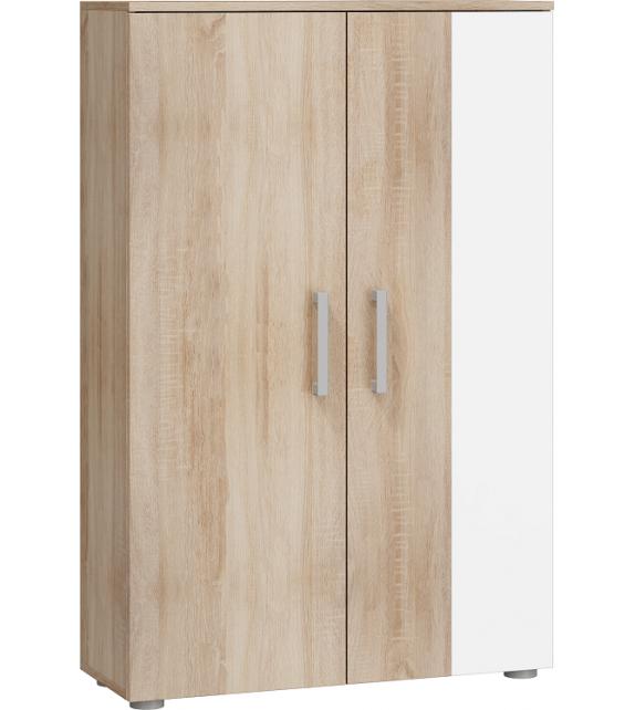 WIP STELLA STE-03 regál nízky komoda lesk sektorový nábytok