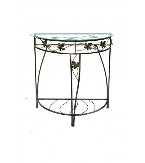 Kovový dekoračný stol M-048