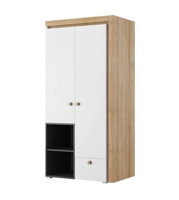 WIP RIVA 02 Skriňa kombinovaná detský sektorový nábytok