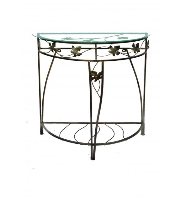 Kovový dekoračný stôl M-049