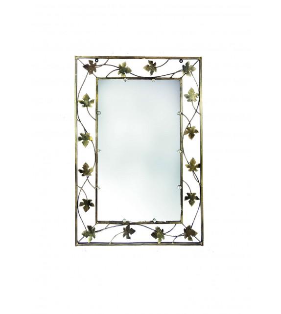 Kovové dekoračné zrkadlo velké M-057