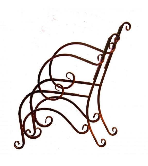 Kovový rám pre lavičku V-004