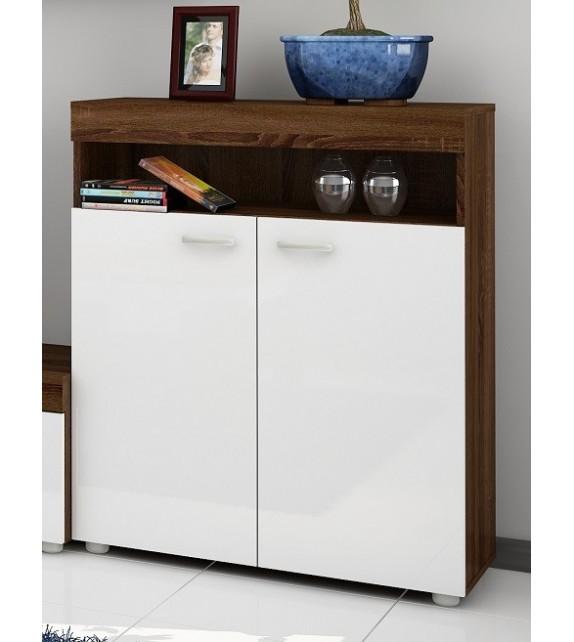 WIP MAX-03 regál nízky komoda lesk sektorový nábytok