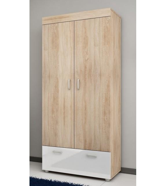WIP MAX-05 skriňa vešiaková lesk sektorový nábytok