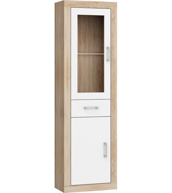 WIP VERIN VRN-14 regál vitrína 1DSW lesk sektorový nábytok
