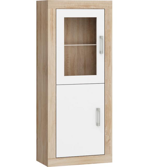 WIP VERIN VRN-16 regál vitrína 1DW lesk sektorový nábytok