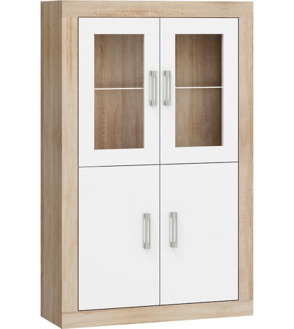WIP VERIN VRN-19 regál vitrína 2DW lesk sektorový nábytok