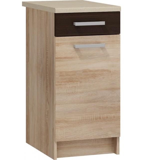 WIP POLO S40/1SZ dolná skrinka šuflíková sektorová kuchynská linka