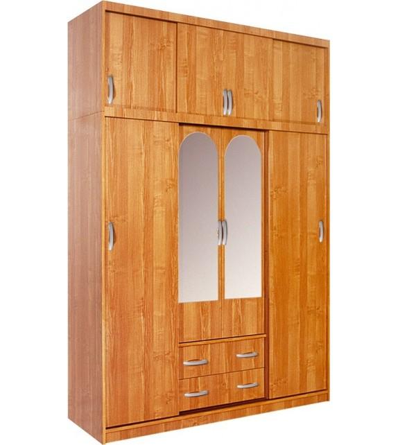 WIP BERTHA skriňa s posuvnými dverami so zrkadlom kombinovaná