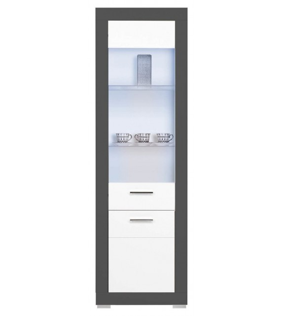WIP GRAY GR7 vitrina L/P sektorový nábytok