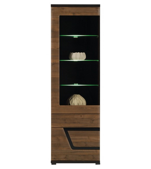 WIP TES TS4 vitrina s LED osvetlením sektorový nábytok