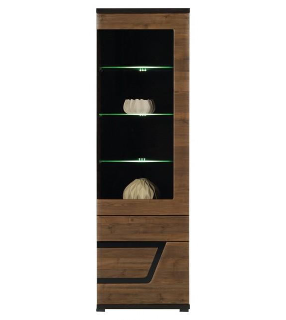 WIP TES TS5 vitrina s LED osvetlením sektorový nábytok