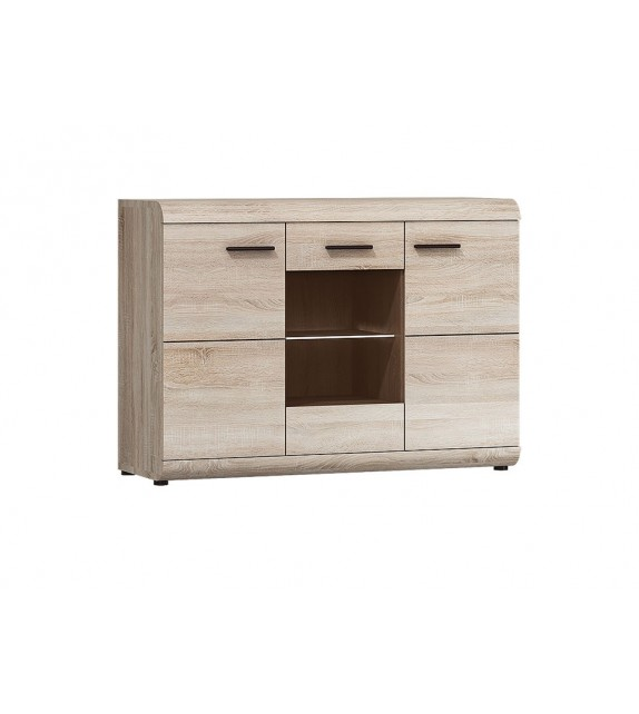 ELBYT LESIKA 80 Vitrína nízka sektorový nábytok