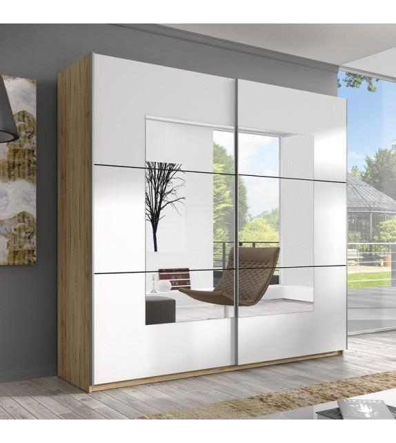ELBYT DELTA 180 Skriňa s posuvnými dverami so zrkadlom sektorový nábytok san remo