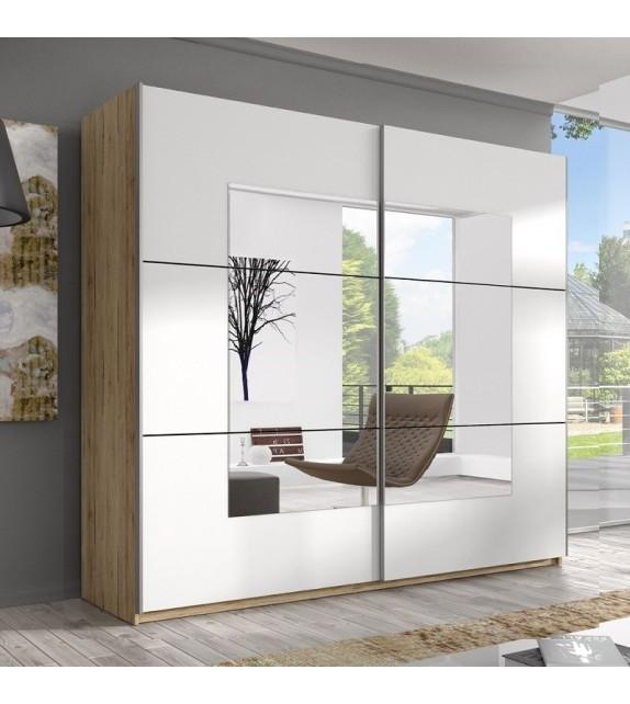 ELBYT DELTA 200 Skriňa s posuvnými dverami so zrkadlom sektorový nábytok san remo