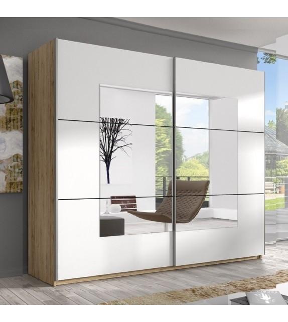 ELBYT DELTA 220 Skriňa s posuvnými dverami so zrkadlom sektorový nábytok san remo