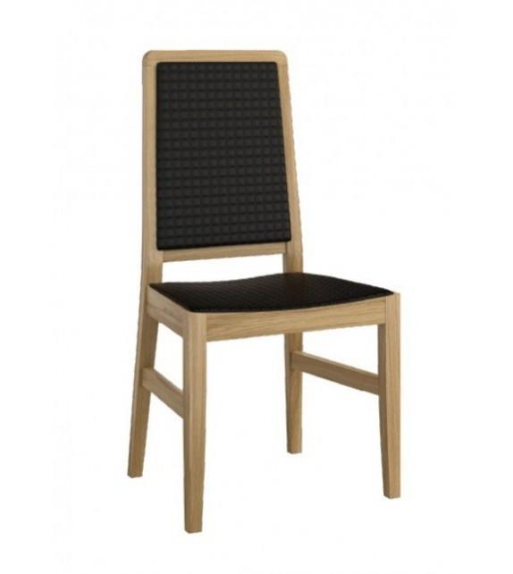GLOBAL MAGANDA Jedálenská stolička čalúnená masívny sektorový nábytok
