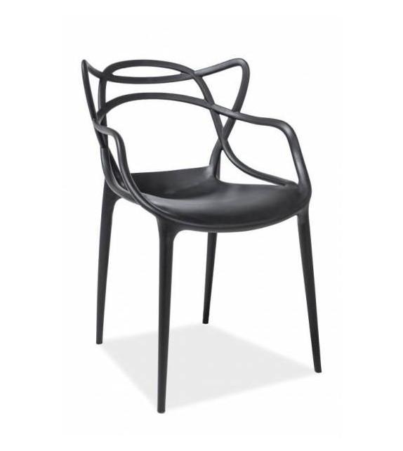 BRW TOBY jedálenská stolička stohovateľná plast