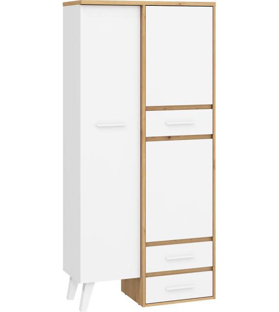 WIP NORDIS NOR-15 Skriňa kombinovaná sektorový nábytok