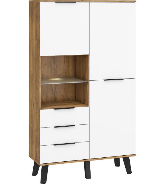 WIP SVEN SVN-13 Vitrína lesk sektorový nábytok