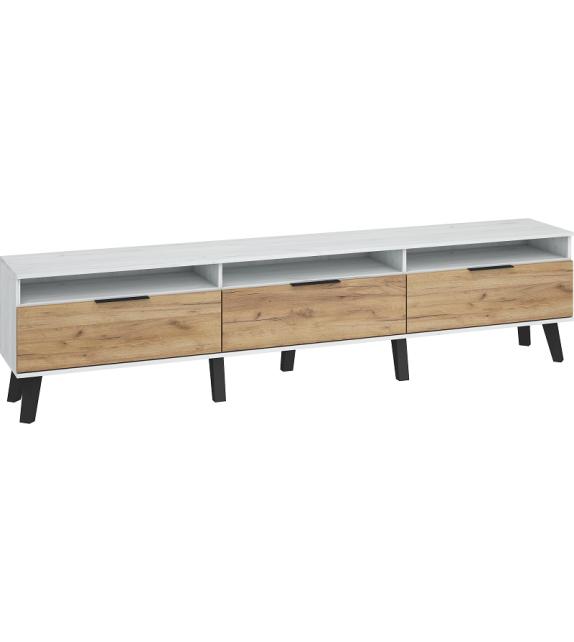 WIP SVEN 3D SVN-12 TV stolík lesk sektorový nábytok