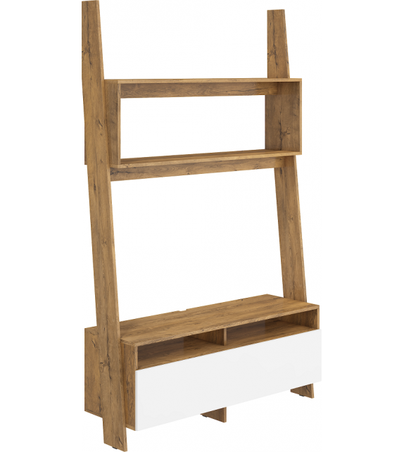 WIP RACK-09 LESK TV stolík regálový sektorový nábytok