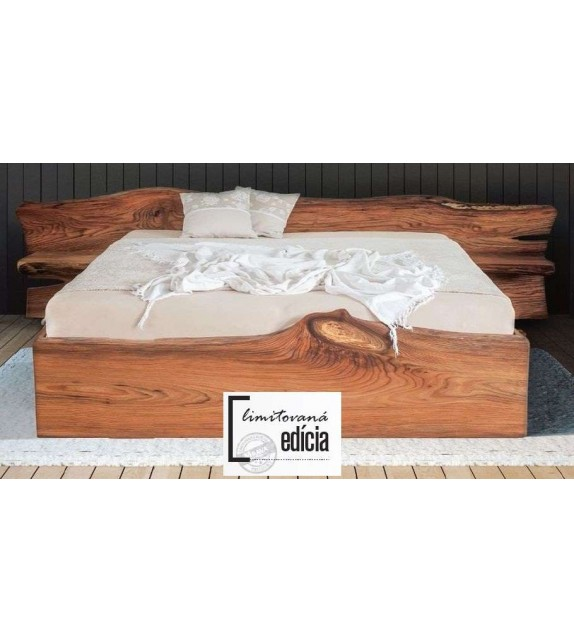 MRAVA ELBA Manželská postel z Brestového dreva