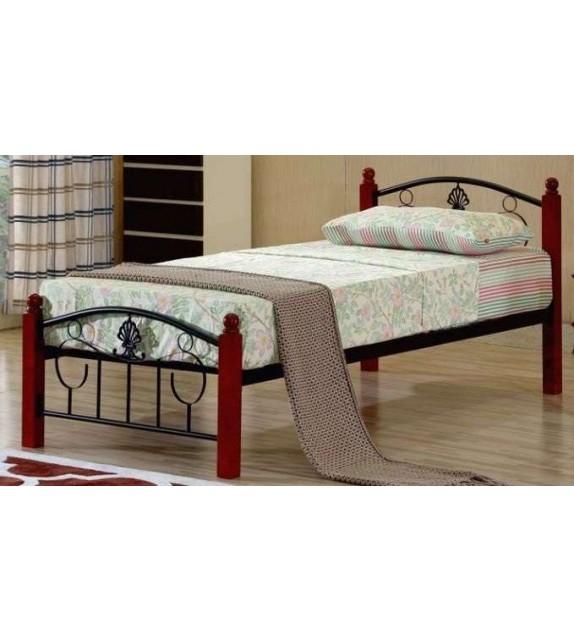 TK MAGENTA 90 kovová postel s lamelovým roštom
