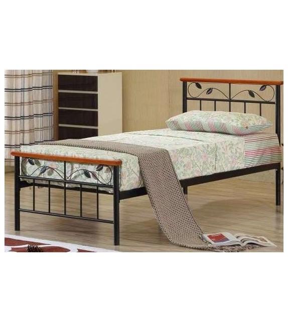 TK MORENA 90 kovová postel s lamelovým rošrom