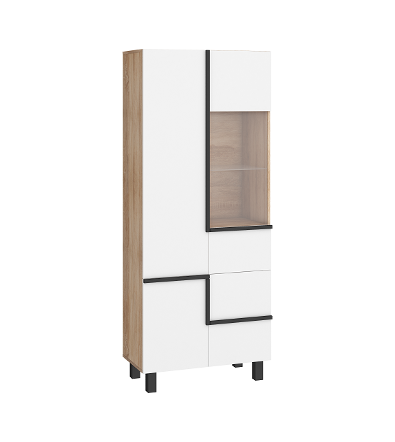 WIP LARS 13 Vitrína 3D sektorový nábytok