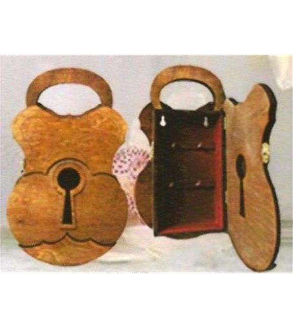 Drevená Skrinka na klúče H-003 kladka