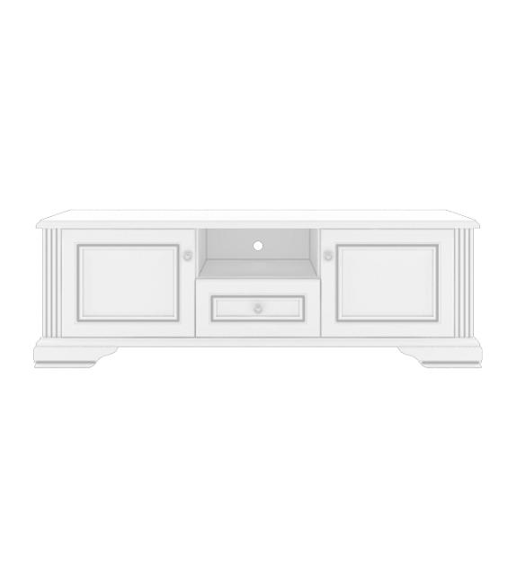 WIP WHITE 002 TV stolík 160 sektorový nábytok do obývačky