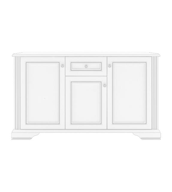 WIP WHITE 009 Komoda sektorový nábytok do obývačky