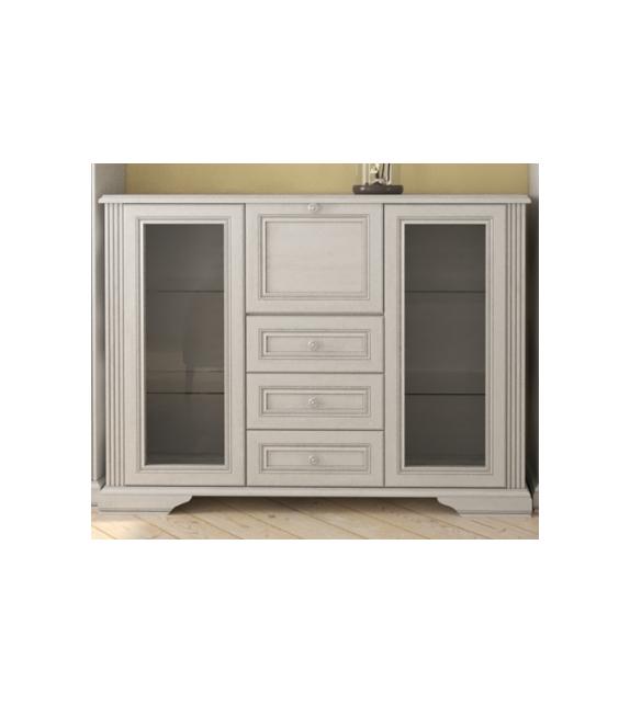 WIP WHITE 009-2 Vitrína sektorový nábytok do obývačky
