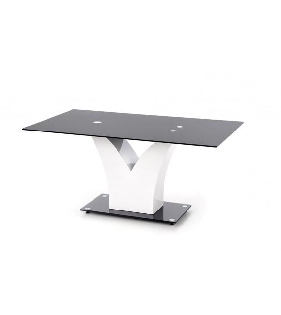 HALMAR VESPER Jedálenský stôl sklenený