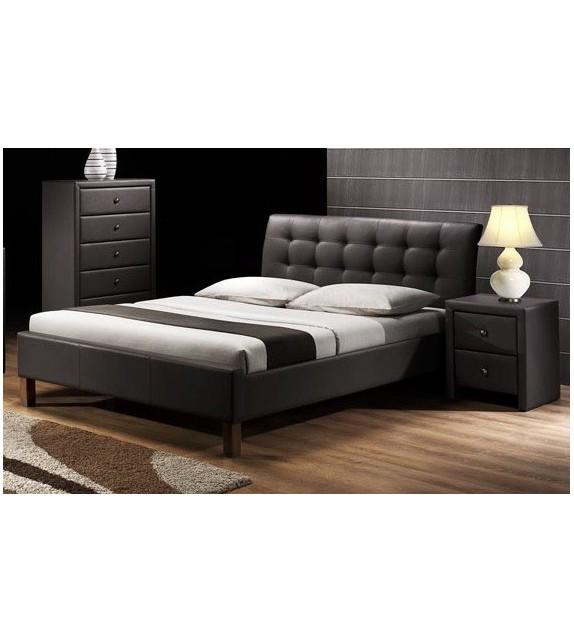 BRW SAMARA 160/180 Manželská posteľ bez úložného priestoru