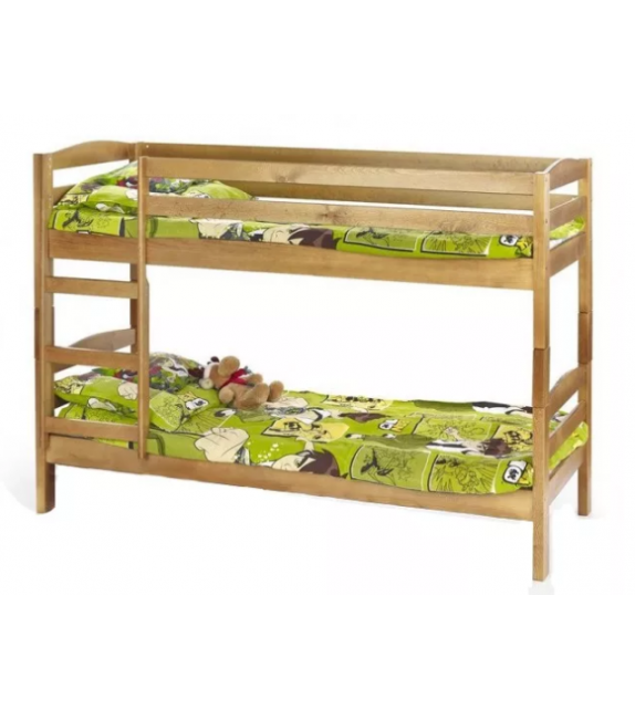 BRW SAM Detská poschodová posteľ