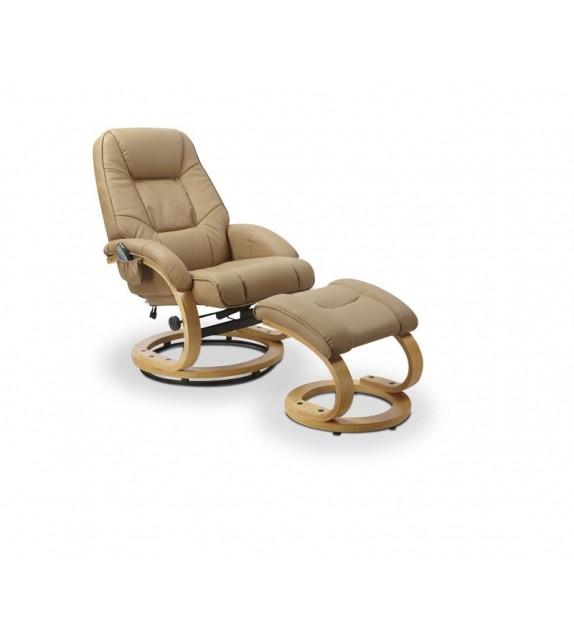 BRW MATADOR Relaxačné kreslo masážne